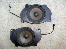 Mercedes 126 Front Dash Speakers 420sel 560sel 560sec 500sel 300sel 350sdl w126