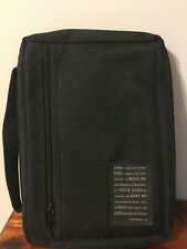 Black Zippered Bible Cover Case Carrier 1 Chronicles 4:10