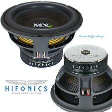 """HIFONICS Maxximus MXZ-12D4 30cm PKW Subwoofer 2000 Watt  12"""" 2 x 4 Ohm SPL Sub"""