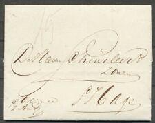 BRIEF AMSTERDAM - 'S HAGE, GESCHREVEN P. DILIGENCE 2 AUG (1842)  Zj282