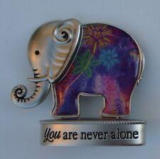 m You are never alone Lucky Elephant Figurine miniature Ganz