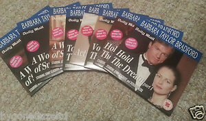 BARBARA TAYLOR BRADFORD Collection Set of 8 Daily Mail Promo DVDs FREE UK POST