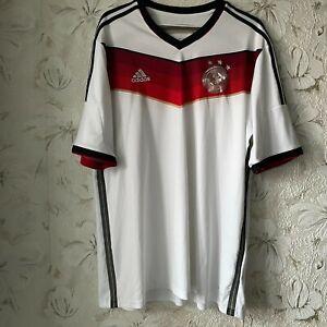 Germany Home football shirt 2014 - 2015 Adidas Soccer Jersey  G87445 Size 2XL