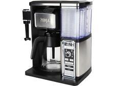 Ninja CF090 Coffee Bar Glass Carafe System, Black/Silver (Certified Refurbished)