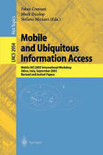 USED (VG) Mobile and Ubiquitous Information Access