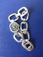 Mechanische Armbanduhren (Handaufzug) mit Silber-Gehäuse für Damen