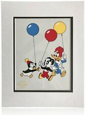 WOODY WOODPECKER ORIGINAL #D SERIGRAPH CELL COA LANTZ - CHILLY WILLY ANDY PANDA