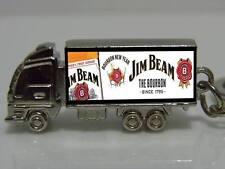 Jim Beam Custom Zinc Alloy Truck Keyring
