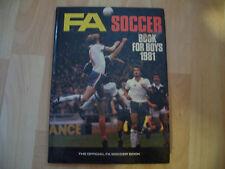 FA Soccer Book for Boys Annual Hardback Football Book 1981 -367