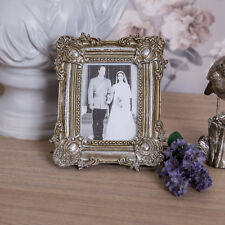 Silver Wall Photo Frame Ornate Shabby Vintage Style Decor Photograph Home Gift