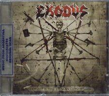 EXODUS EXHIBIT B: THE HUMAN CONDITION + BONUS TRACK SEALED CD NEW