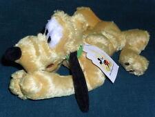 "10"" stuffed Walt Disney World beanbag plush Pluto w/Tag"