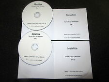 "METALLICA ""SOME KIND OF MONSTER"" RARE 2 x DVD PROMO CHECK DISC SET 2014"
