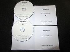 "METALLICA ""SOME KIND OF MONSTER"" RARE 2 x DVD PROMO CHECK DISC SET 2014"