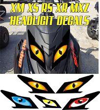 SKI DOO  XS XM XR RS MX Z TNT SUMMIT GSX RENEGADE HEADLIGHT DECAL STICKER MXZ 1