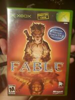 Fable with Limited Edition Bonus DVD Included Microsoft Xbox Video Game 2 disc