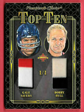 2020 Gayle Sayers - Bobby Hull President's Choice Solitaire 1/1 Dual Relic