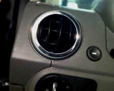 D Ford Fusion 2002 - Chrom Ringe für Lüftungsschacht außen  - Aluminium poliert