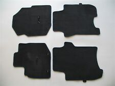 2010 HONDA FIT BLACK CARPET FLOOR MATS RUGS OEM GENUINE USED SET 09 10 11 12 13