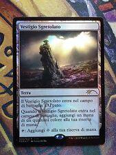 Crumbling Vestige - FNM PROMO Italian -  MTG Magic (NM)