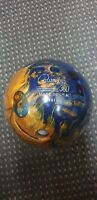 COLUMBIA 300 SCOUT REACTIVE BOWLING BALL - 10 POUND - DARK BLUE & GOLD SWIRL -