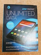 AT&T Prepaid LG Xpression Plus Prepaid Smartphone- Moroccan Blue