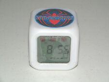 Cool New Spiderman Digital Alarm Clock