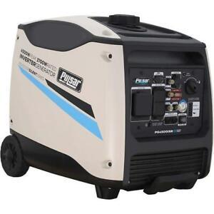 Pulsar 4500 Watt Portable Inverter Generator Electric Start w/ Remote Control
