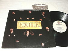"Exile ""Mixed Emotions"" 1978 Rock LP, Nice VG++!, Warner Brothers"