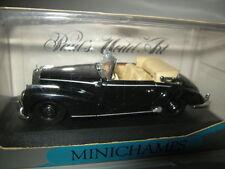 1:43 Minichamps Mercedes-Benz 300 S CABRIO BLACK/NERO 1951-55 n. 032330 OVP