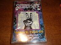 Summer Of Love Volume 2 Turn On CASSETTE Various NEW