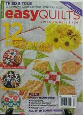 Fons & Porter's Easy Quilts Spring 2017 12 Fast Quilts Patterns FREE SHIPPING sb