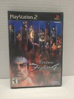 Virtua Fighter 4 (Sony PlayStation 2, 2002)  CIB Tested Fast Shipping