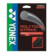 Yonex Poly Tour Strike 17 1.20 Tennis String - Black - Authorized Dealer