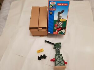 Thomas The Tank Engine & Friends CRANKY CRANE WOOD WOODEN BOXED LEARNING CURVE