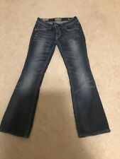 Mek Denim Blue Jean Ladies Size 27/36 Boot