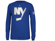 NHL Reebok #15 NY Islanders  Hockey Jersey Long Sleeve Shirt New Mens Sizes
