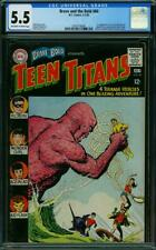 Brave and the Bold #60 CGC 5.5 DC 1965 1st Wonder Girl! Teen Titans! L2 328 cm