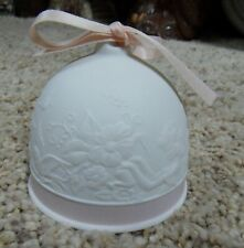 Lladro Collectors Society Porcelain Spring Bell #7613 Original Box Retired