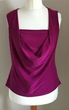 Roman Size 14 Ladies Sleeveless Purple Top