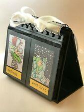 Photo Album Desktop Easel  GREAT For Fuji Instax mini Pics, 68 Pockets