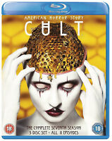 AMERICAN HORROR STORY: Cult Season 7 [Blu-ray] Exclusive UK Release All Regions