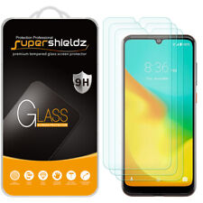 [3-Pack] Supershieldz Tempered Glass Screen Protector for ZTE Blade A7 Prime