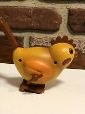 Fun Vintage Wind-Up Hopping Toy Chicken / Rooster - Easter