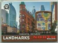 18-19 OPC Coast to Coast Canadian Tire Landmarks of the North Map Relics NR-TOR