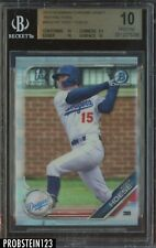 2019 Bowman Chrome Refractor Kody Hoese Dodgers RC Rookie BGS 10 PRISTINE