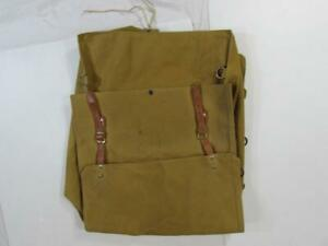 Vintage 1940s Sun Brand Tent Luebbert Co Canvas Rucksack Backpack Hiking 1930s