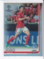 2018-19 Topps Chrome UEFA  #10 Joao Felix RC Silver Refractor SL Benfica