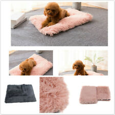 Pet Dog Cat Blanket Winter Pet Soft Fluffy Blanket Cosy Warm Throw Mat Nest Pad