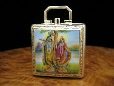 Ebel 9kt 375 Gold Reiseuhr Klappuhr Taschenuhr Carré Form